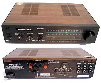 Realisitc Mini Stereo Receiver