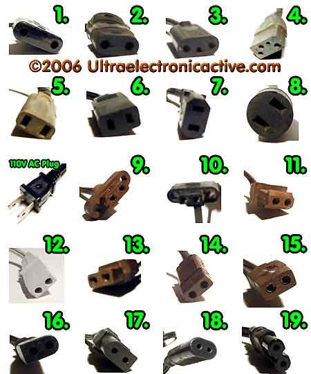 Vacuum tube electronic chasis parts