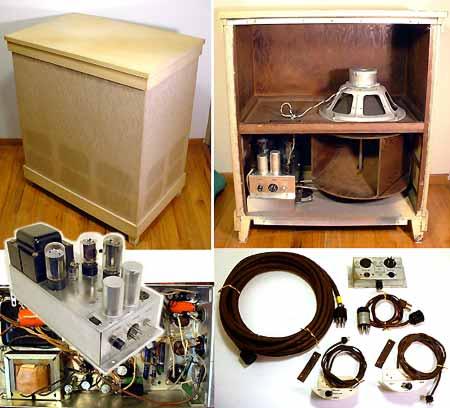 Vintage Hammond Tonewheel and Tube on