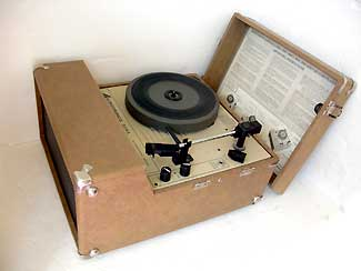 Commercial Record Player