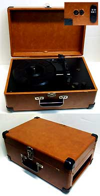 Custom modified record player