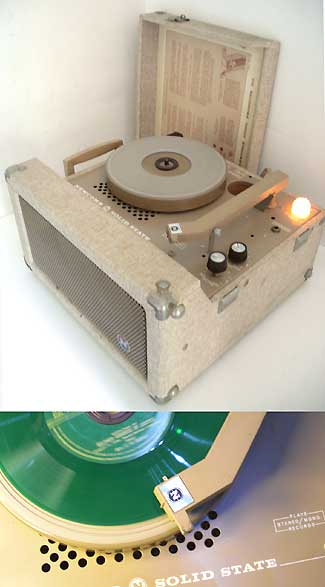 Newcomb Solid State Commercial Grade Record Player