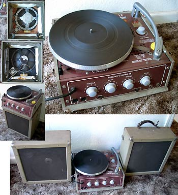 Tube Amplified PA/ Direct Drive Record Player