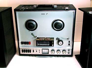 3 Hd 3 Motor Auto-Reverse Stereo Reel to Reel Tape RecorderReel to Reel Deck