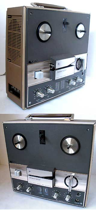 SONY 3 head Reel to Reel Deck with sound effects features