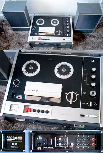 SONY TC-230 3 Speed Open Reel Recorder