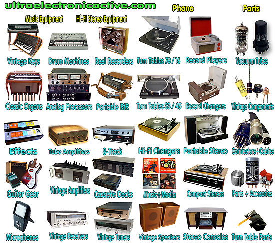 Vintage Audio Sales 82
